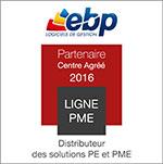 Partenaire agréé 2016 ligne PME EBP en Alsace